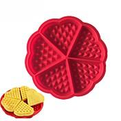 Cortadores para galletas Corazón para el caramelo para la galleta para la torta Chocolate Galleta Gel de Sílice Manualidades día de San