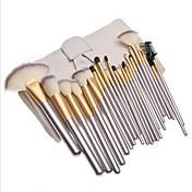 Cepillo para Base Cepillo para Polvos Pestaña Brush Cepillo de Cejas (Plano) Pincel Delineador Pincel para Labios Pincel para Sombra de