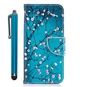 Funda Para Samsung Galaxy A8 2018 / A5(2017) Cartera / Soporte de Coche / con Soporte Funda de Cuerpo Entero Árbol / Flor Dura Cuero de PU para A3 (2017) / A5 (2017) / A7 (2017)