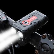Luz Frontal para Bicicleta LED LED Ciclismo Con carga rápida 2.0 Batería Recargable 1200 Lumens Batería de Li-batería incorporada Blanco
