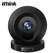ithink cámara ip de 1,0 mp de interior con zoom de 64 gb (32 gb suficiente (detección de movimiento incorporada del micrófono del altavoz incorporado)