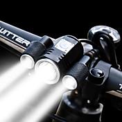 Luz Frontal para Bicicleta LED LED Ciclismo Fácil de Instalar Pro Batería Recargable 1900 Lumens Batería de Li-batería incorporada