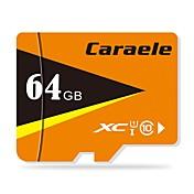 Caraele 64GB Tarjeta TF tarjeta Micro SD tarjeta de memoria Clase 10 CA-2