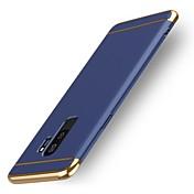 Etui Til Samsung Galaxy S9 S9 Plus Støtsikker Bakdeksel Helfarge Hard Plast til S9 Plus S9 S8 Plus S8 S7 edge S7 S6 edge plus S6 edge S6