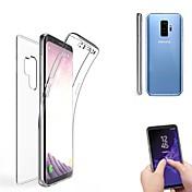 Etui Til Samsung Galaxy S9 S9 Plus Gjennomsiktig Heldekkende etui Helfarge Myk Silikon til S9 Plus S9 S8 Plus S8 S7 edge S7 S6 edge plus