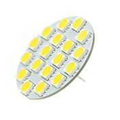 SENCART 1pc 5W 540 lm G4 LED-lamper med G-sokkel T 18 leds SMD 5730 Dekorativ Varm hvit Kjølig hvit 12-24V