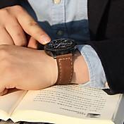 Klokkerem til Gear S3 Frontier Gear S3 Classic Samsung Galaxy Klassisk spenne Lær Håndleddsrem