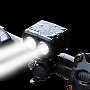 Luz Frontal para Bicicleta LED LED Ciclismo Diseñado Especial Portátil Con puerto de carga Peligro Eléctrico Con Interruptor (es)