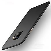 Funda Para Samsung Galaxy S9 S9 Plus Ultrafina Funda Trasera Color sólido Dura ordenador personal para S9 Plus S9 S8 Plus S8 S7 edge S7