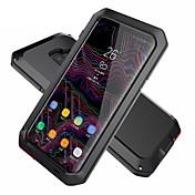Etui Til Samsung Galaxy S9 S9 Plus Vannavvisende Støtsikker Rustning Heldekkende etui Rustning Hard Metall til S9 Plus S9 S8 Plus S8 S7