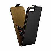 Etui Til Apple iPhone 8 Plus / iPhone 7 Plus IMD Heldekkende etui Ensfarget Myk PU Leather til iPhone 8 Plus / iPhone 7 Plus
