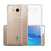 Etui Til Samsung Galaxy J7 (2016) Gjennomsiktig Bakdeksel Ensfarget Myk TPU til J7(2016)