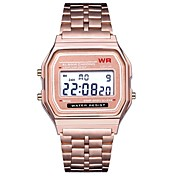 Hombre Reloj Deportivo / Reloj de Pulsera Chino Calendario / Cronógrafo / Nuevo diseño Aleación Banda Casual / Brazalete Negro / Plata / Dorado / LCD / Tianqiu 377