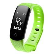 COOLHILLS CB608 PRO Pulsera inteligente Android iOS Bluetooth Impermeable Monitor de Pulso Cardiaco Medición de la Presión Sanguínea Pantalla Táctil Podómetro Recordatorio de Llamadas Seguimiento del