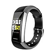 Smartklokke V1 til iOS / Android Pulsmåler / Vanntett / Blodtrykksmåling / Kalorier brent / Trenings logg Pedometer / Samtalepåminnelse / Søvnmonitor / Stillesittende sittende Påminnelse / 200-250