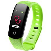 Pulsera inteligente CB608 PRO for iOS / Android 4.3 y superior Monitor de Pulso Cardiaco / Impermeable / Medición de la Presión Sanguínea / Standby Largo / Pantalla Táctil Podómetro / Recordatorio de