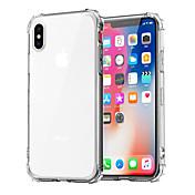 Etui Til Apple iPhone XR / iPhone XS Max Støtsikker / Gjennomsiktig Bakdeksel Ensfarget Myk TPU til iPhone XS / iPhone XR / iPhone XS Max