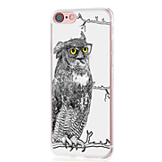 For Case Cover Ultra-thin Pattern Back Cover Case Owl Soft TPU for Apple iPhone X iPhone 8 Plus iPhone 8 iPhone 7 Plus iPhone 7 iPhone 6s
