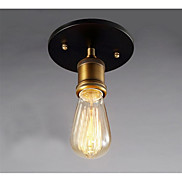 1pcs E27 Loft Vintage Industrial Metal Wall Light Retro Brass Wall Sconce Lamp AC110-240V NO Lamp