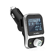Dual USB Car Kit Bluetooth MP3 Player Charger Hands-free Call Wireless FM Transmitter Modulator With LCD Display