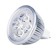 Недорогие -3000 lm GU5.3(MR16) Точечное LED освещение MR16 4 светодиоды Высокомощный LED Тёплый белый DC 12V
