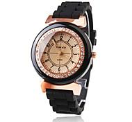 cheap -Women's Quartz Wrist Watch Japanese Casual Watch Plastic Band Sparkle Dress Watch Fashion Black