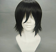Cosplay Wigs Cosplay Lelouch Lamperouge Black Short Anime Cosplay Wigs 32 CM Heat Resistant Fiber Male