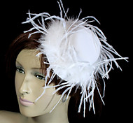 Women's Feather Velvet Headpiece-Wedding Special Occasion Hats