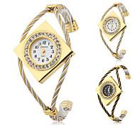 Women's Metal Analog Quartz Bracelet Watch (Assorted Colors) Cool Watches Unique Watches Fashion Watch Strap Watch