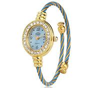 Women's Metal Analog Quartz Bracelet Watch (Blue) Cool Watches Unique Watches