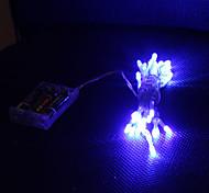 Недорогие -3M синий 30 LED ламп, 2 Режима работы