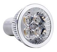 4W GU10 LED Spotlight MR16 4 High Power LED 350-400lm Warm White 3000K AC 85-265V