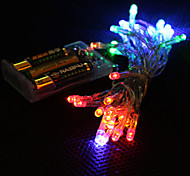 cheap -String Lights 30 LEDs RGB Color-Changing