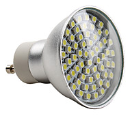 E14 GU10 LED Spotlight MR16 60 SMD 3528 180lm Natural White 2800K AC 220-240V