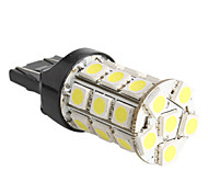 T20 Car White 5W SMD 5050 5800-6300 Turn Signal Light Brake Light