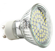 3W GU10 LED Spotlight MR16 48 SMD 3528 250-300lm Natural White 6000K AC 220-240V