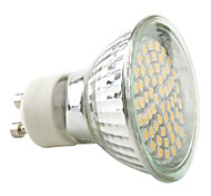 cheap -2800 lm GU10 LED Spotlight MR16 60 leds SMD 3528 Warm White Natural White AC 220-240V