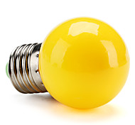 cheap -0.5W 100 lm E26/E27 LED Globe Bulbs G45 leds High Power LED Yellow AC 200-240V