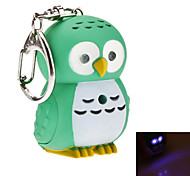 cheap -Keychain Jewelry Owl Silicon Rubber Resin LED Luminous Illuminated Lovely Animal Daily Wear Men's Women's