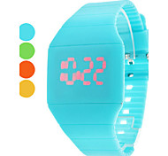 Women's Watch Fashion Touch Screen Red LED Digital Candy Color Cool Watches Unique Watches