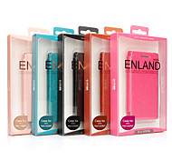 Elegant Full Body PU Leather Case with Stand and Card Slot for HTC One