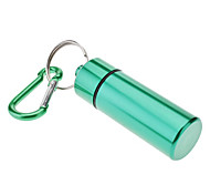 cheap -Durable Aluminum Alloy Medicine Bottle with Hook(Assorted Colors)