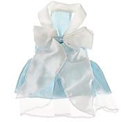 Cani Vestiti Blu Abbigliamento per cani Estate Righe Matrimonio