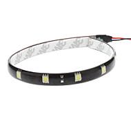 Автомобиль белый 2.5W SMD 5050 6000-6500 Лампа подсвета приборной доски Лампа освещения номерного знака Светодиодная лента