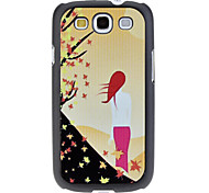 Back of Woman Pattern Hard Case for Samsung Galaxy S3 I9300 Cases / Covers for Samsung