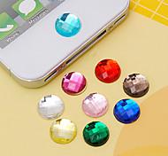 Наклейка с акриловой наклейкой из хэндленда (случайные цвета) diy для iphone 8 7 samsung galaxy s8 s7