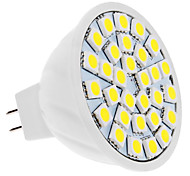 4W GU5.3(MR16) Focos LED MR16 30 leds SMD 5050 Blanco Natural 420lm 6000K DC 12V