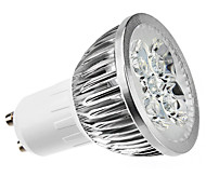 4W GU10 LED Spotlight MR16 4 High Power LED 400lm Warm White 3000K Dimmable AC 220-240V
