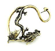 Недорогие -Ухо Манжеты Сплав Мода Серебряный Золотой Бижутерия Повседневные Новогодние подарки