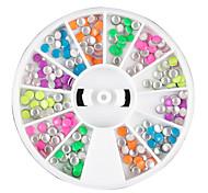 Недорогие -12 цвета Мини заклепки украшения искусства ногтя